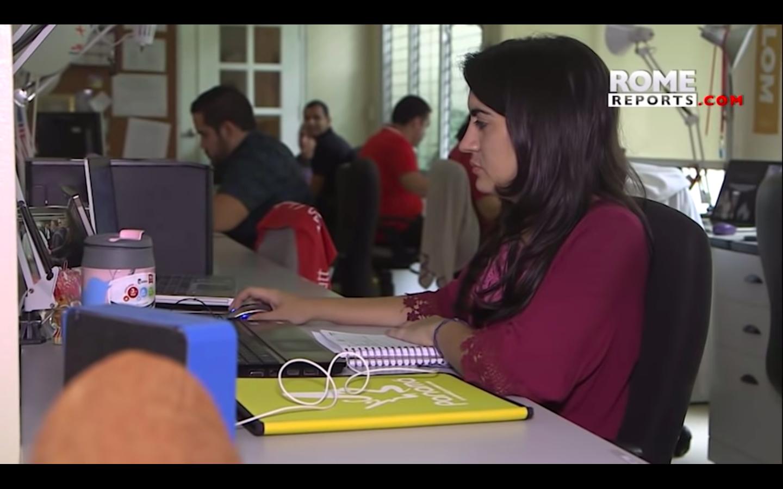 """Voluntaria de la JMJ: """"Panamá es un país muy acogedor""""."""