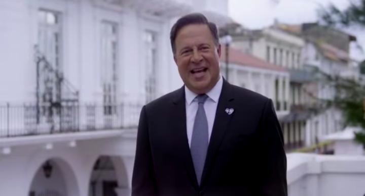 """Presidente de Panamá: """"Es una gran alegría recibir al Papa Francisco"""""""