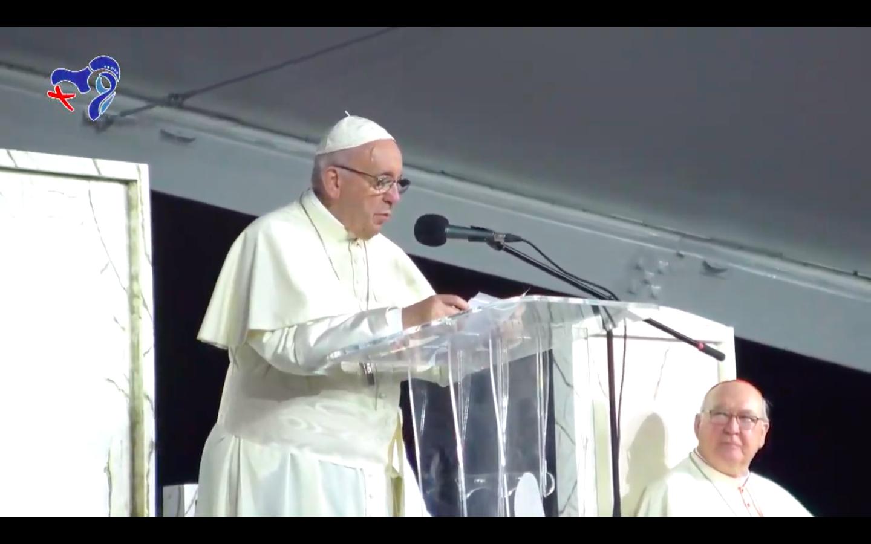 600.000 participan en la Vigilia con el Papa