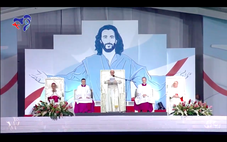 Vigilia con los jóvenes Campo San Juan Pablo II