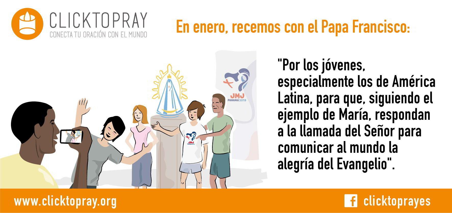 Intención de la oración - Enero