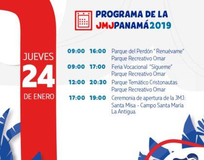Agenda: Jueves 24