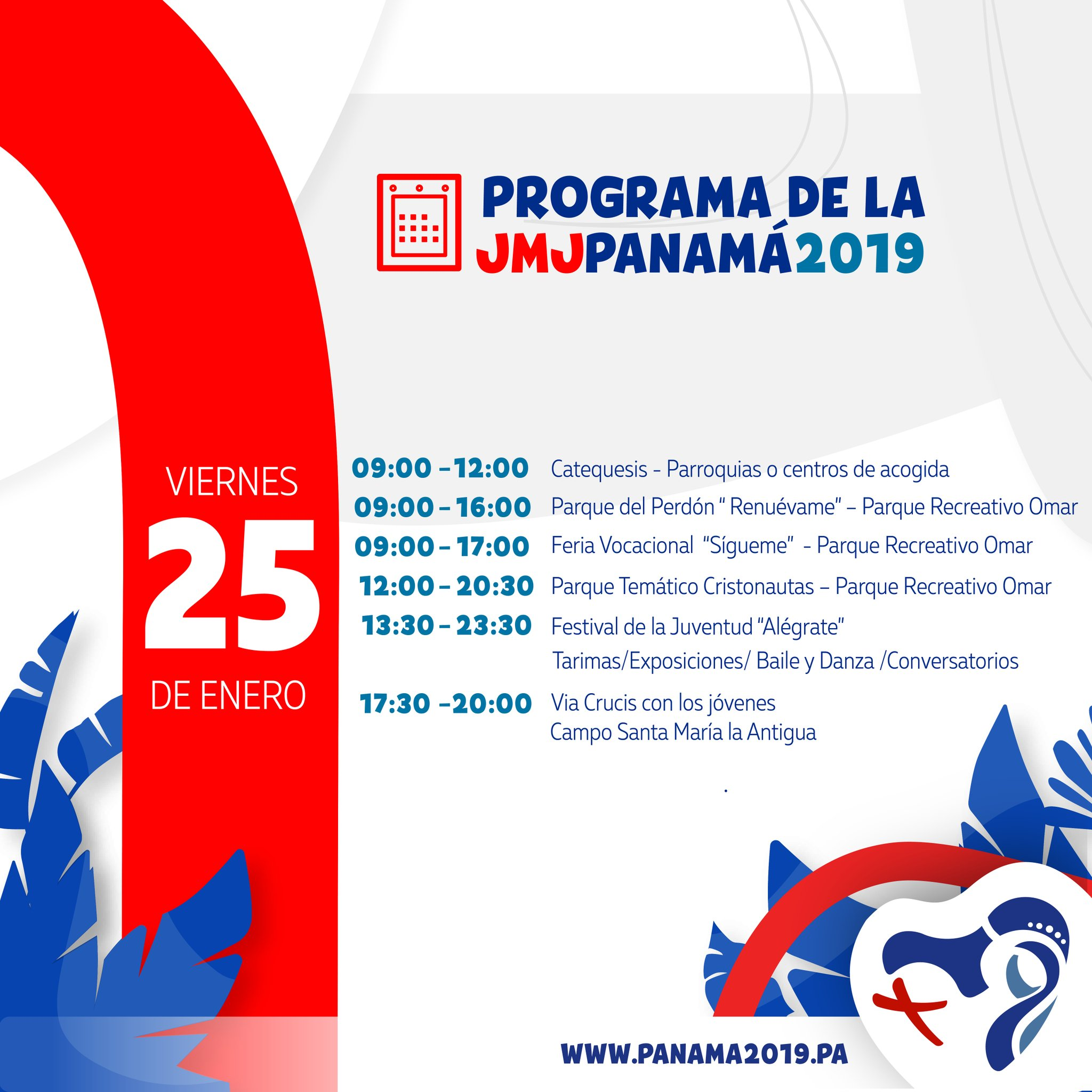 Agenda: Viernes 25