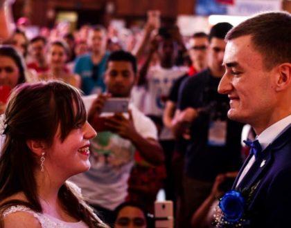 Pareja de peregrinos polacos se casa en Panamá
