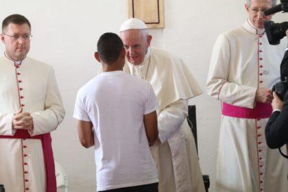 Liturgia penitencial con los jóvenes privados de libertad - Centro de Cumplimiento de Menores Las Garzas de Pacora