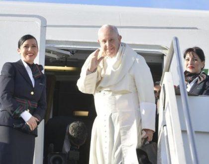 El Papa Francisco ya viene en camino