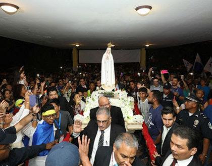 Imagen de Nuestra Señora de Fátima llega a Panamá