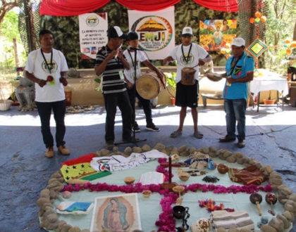 Jóvenes Indígenas compartiendo sus retos y esperanzas desde la fe