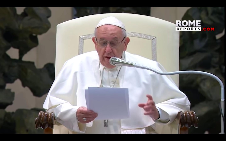 """""""El mundo cristiano y el islámico aprecian y protegen los valores comunes"""".  Papa Francisco"""
