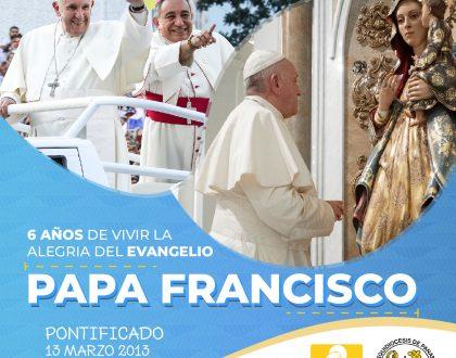 Pontificado del Papa Francisco fortalecido con la fuerza del Espíritu Santo