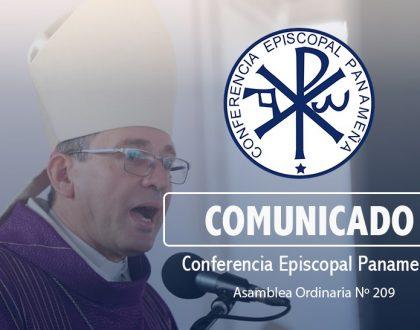 COMUNICADO DE LA CONFERENCIA EPISCOPAL PANAMEÑA (C.E.P)