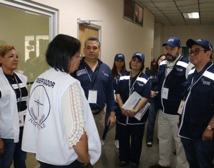 GANHRI visitan al Centro de Coordinación Nacional de la Comisión Justicia y Paz