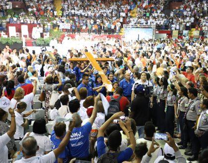 Panameños despiden símbolos de la JMJ
