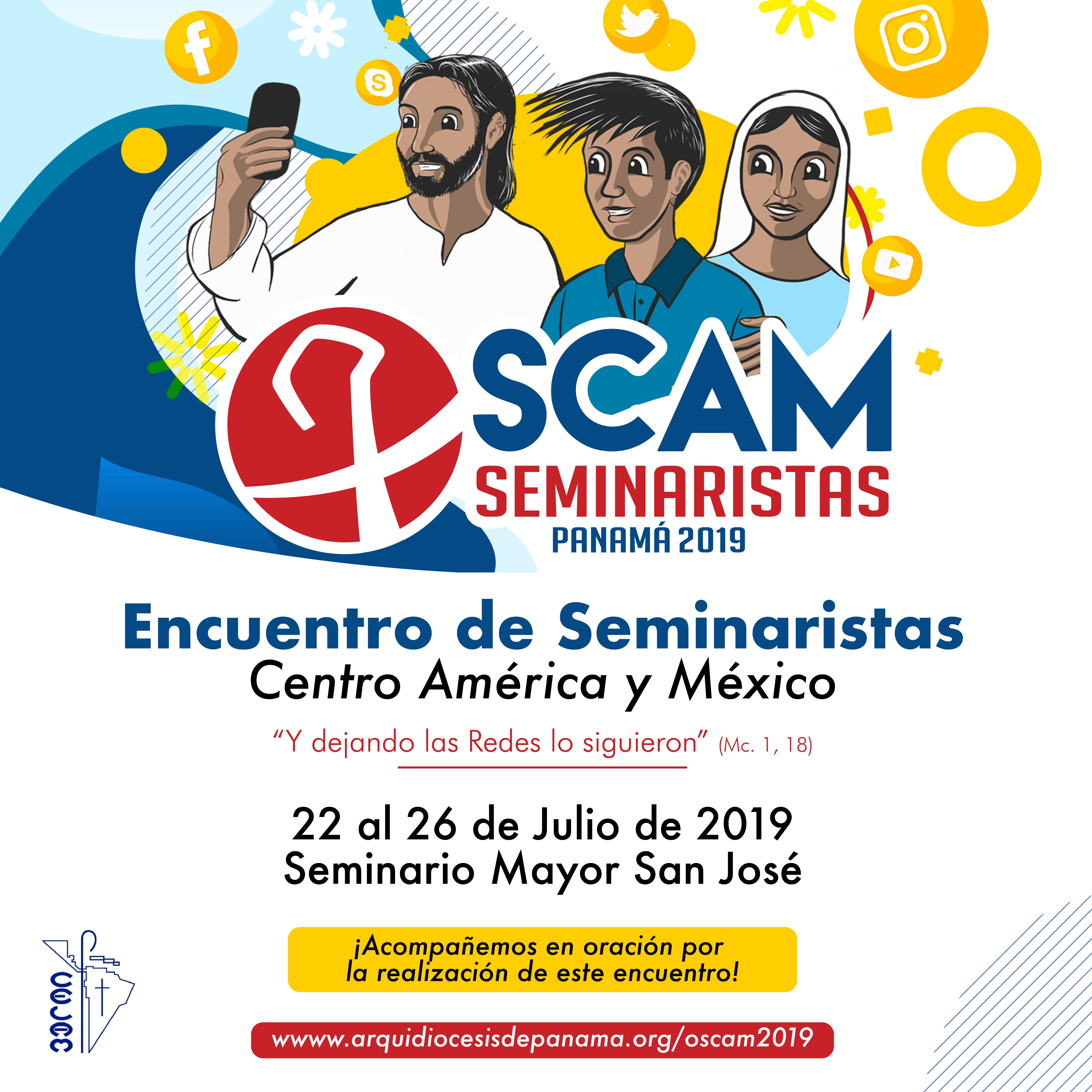 Futuros sacerdotes centroamericanos y de México inician encuentro en Panamá