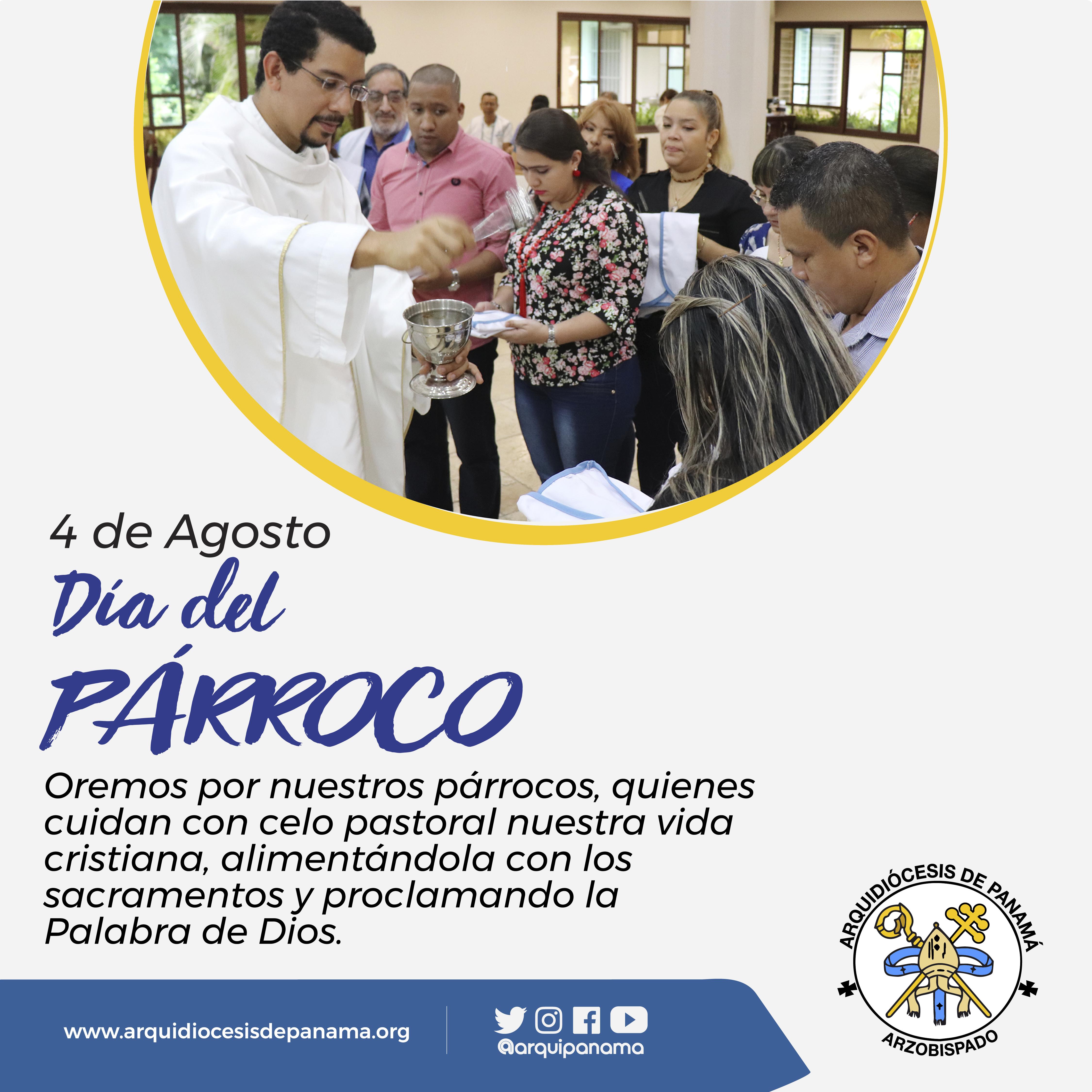 MENSAJE EN EL DIA DEL PÁRROCO 2019