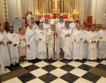 Arquidiócesis de Panamá da gracias por el servicio de 89 diáconos permanentes