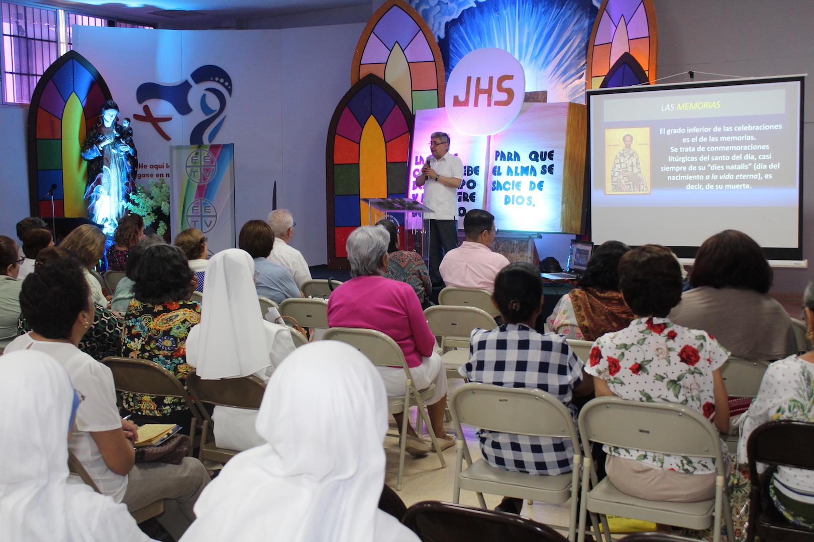 Jornada de formación teológica-litúrgica con más de 335 agentes de pastoral