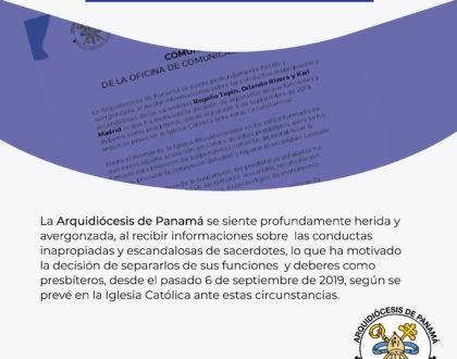 COMUNICADO - OFICINA DE COMUNICACIÓN Y PRENSA