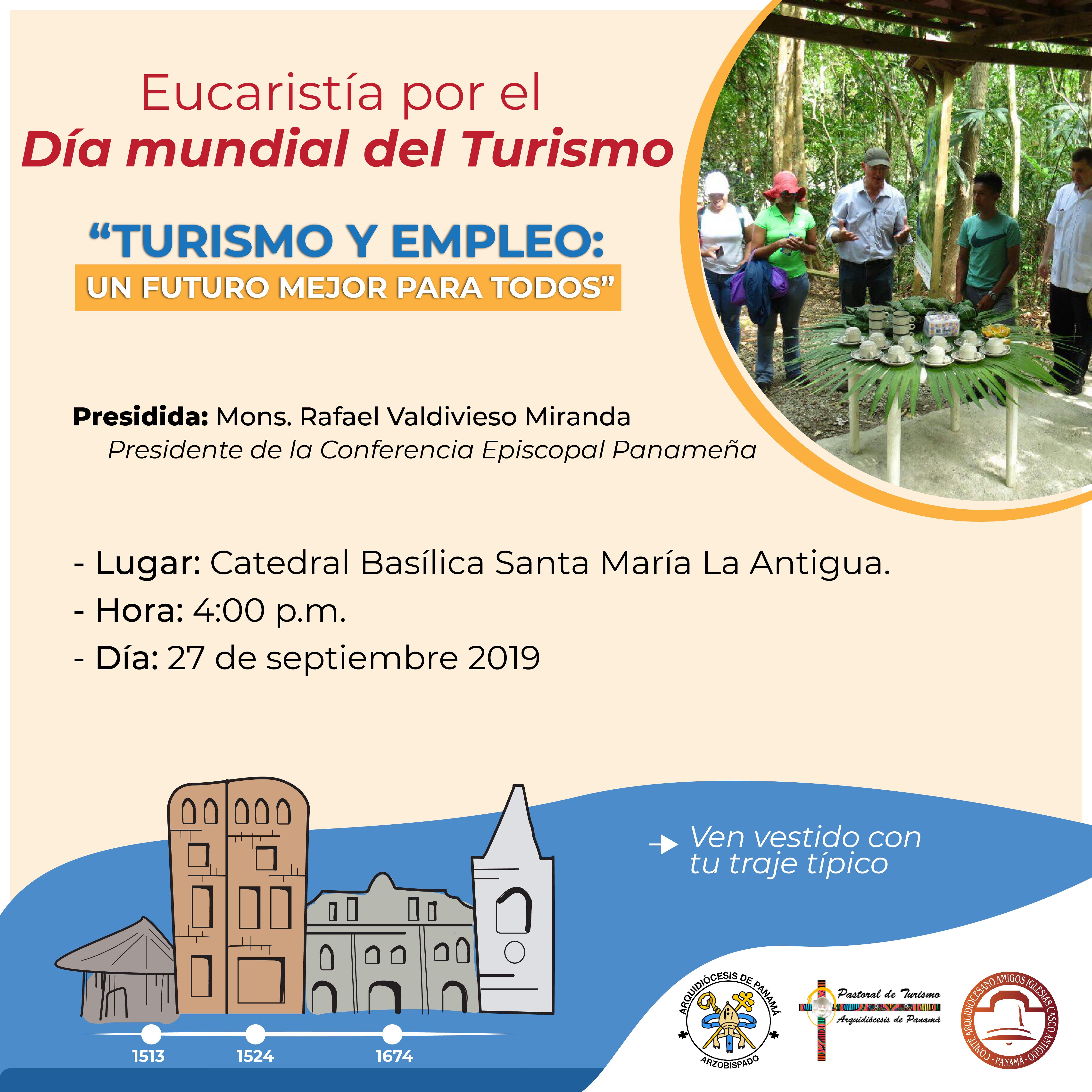 Eucaristía típica por la 39º Jornada Mundial del Turismo