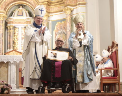 Monseñor Rómulo Aguilar recibe título honorífico de Capellán de Su Santidad