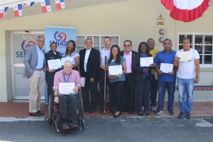 Reconocimiento a 21 voluntarios que interpretaron el lenguaje de señas en la JMJ