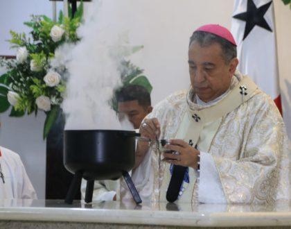 Consagración del Altar de la  Parroquia Inmaculada Concepción, La Chorrera