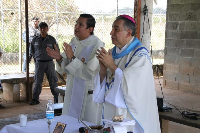 Homilía Cárcel la Joyita - Mons. José Domingo Ulloa Mendieta, osa.