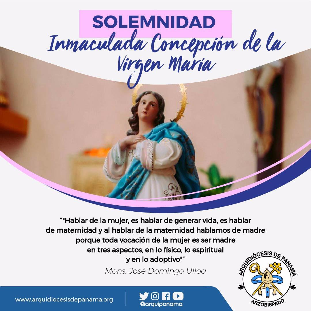 """Monseñor  Ulloa: """"Hablar de mujer es hablar de generar vida"""""""