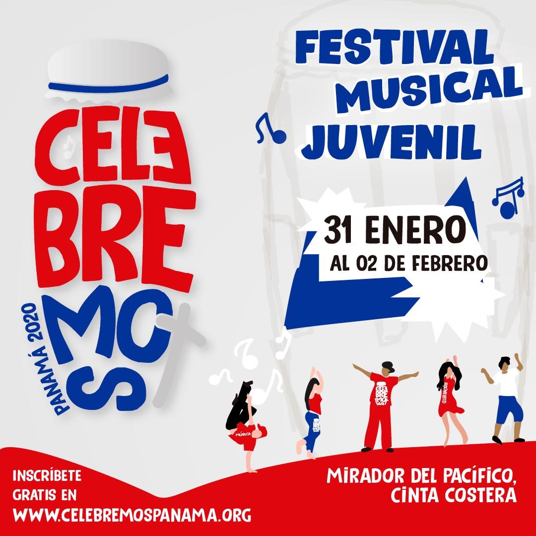 """""""Celebremos Panamá 2020"""" evento católico festivo juvenil para todos"""