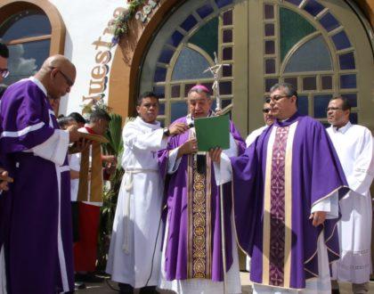Inicia el Año Jubilar de la parroquia de Guadalupe, en El Coco La Chorrera