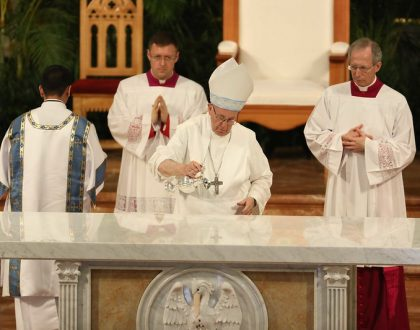 Iglesia Católica en Panamá conmemorará una año de la Consagración del Altar de la Catedral Basílica