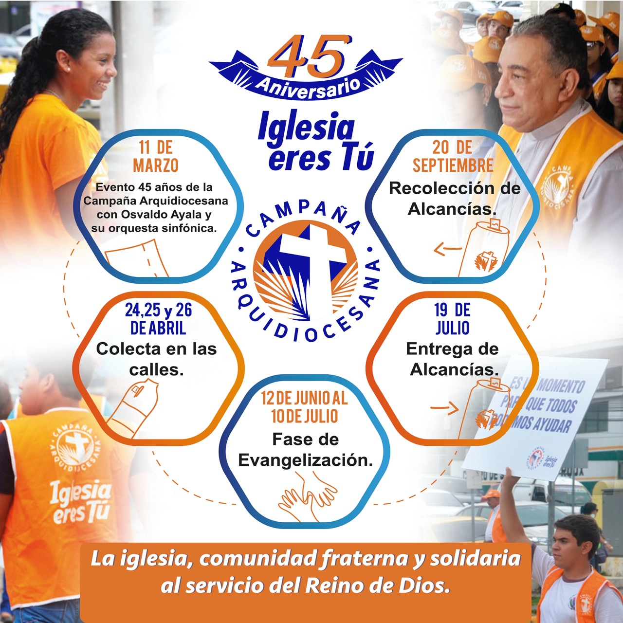 """Campaña Arquidiocesana celebrará sus 45 años con """"Gala de la Música Típica"""""""