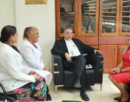 Asociación de Enfermeras y la Iglesia Arquidiocesana inician pasos para alianza de trabajo en conjunto