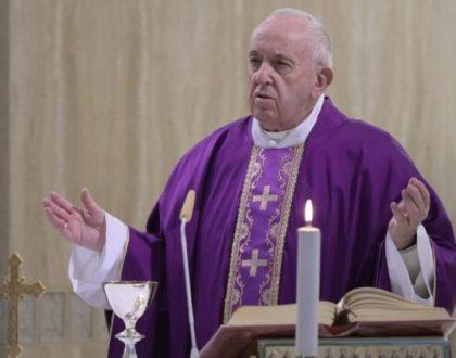 Francisco: reza por aquellos que están en dificultades económicas por el COVID-19