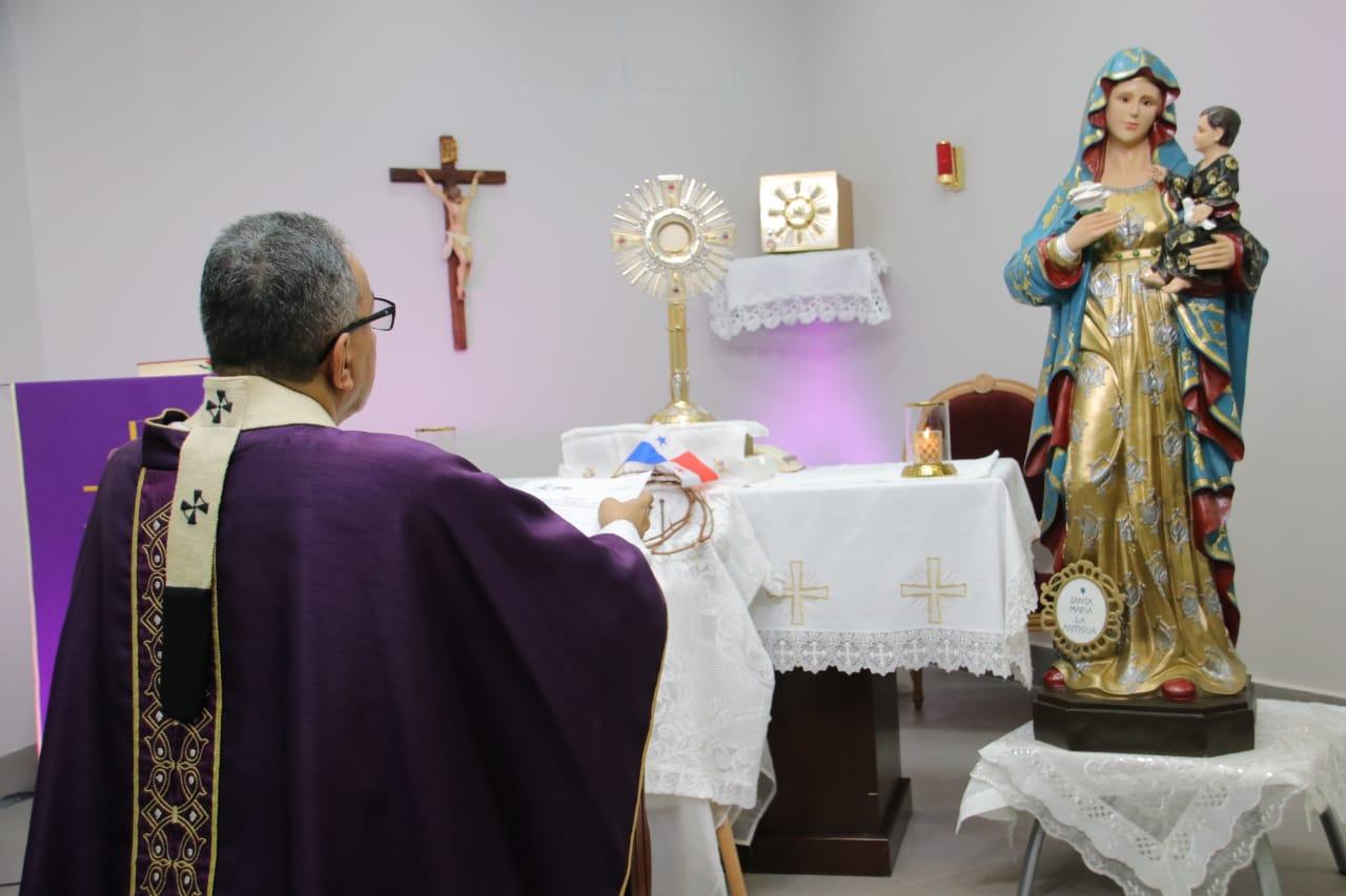 """Monseñor Ulloa: """"Que la fuerza del Espíritu Santo acompañe y fortalezca a nuestras autoridades"""""""
