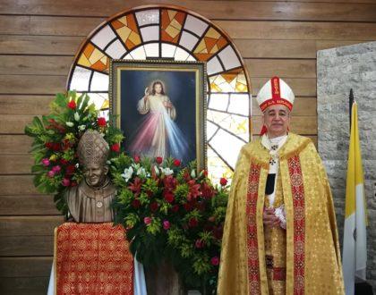 """En el """"Domingo de la Misericordia""""  Arzobispo de Panamá recuerda a Juan Pablo II"""