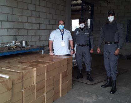 Pastoral Penitenciara dona 25 mil jabones de barra y 150 cajas de desinfectantes y otros artículos a cárceles