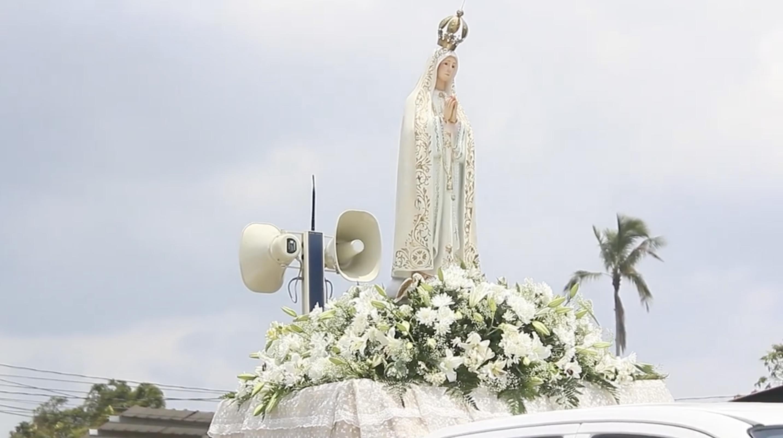 Jesús Sacramentado y Nuestra Sra. de Fátima Celebraron con su pueblo