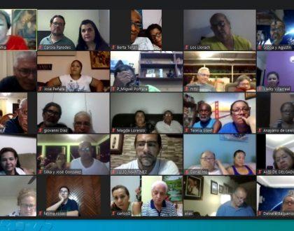 66 Agentes por primera vez  en la plataforma virtual