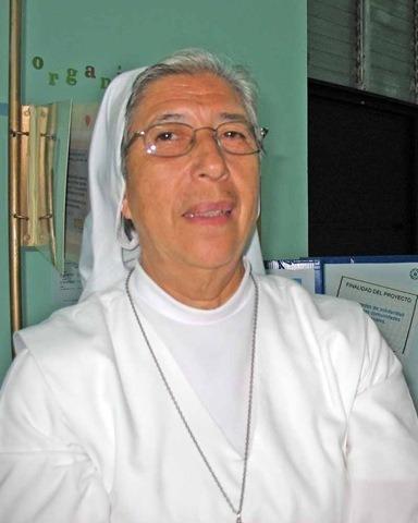 """""""Cristo el Buen Pastor recibió en su regazo a, Hna. Sor Carmen Ronquillo, como respuesta sublime"""""""