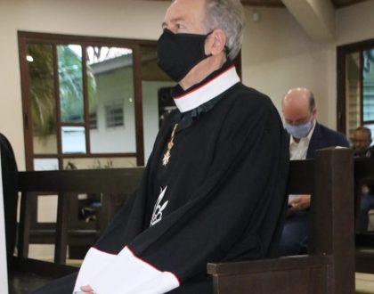Monseñor Ulloa, agradece a la Orden de Malta sus proyectos médicos, sociales y humanitarios en la Iglesia Católica