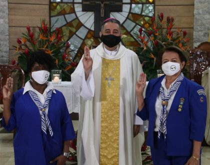 Arzobispo agradece a Asociación de Muchachas Guías por apoyar a jóvenes del país en 89 años