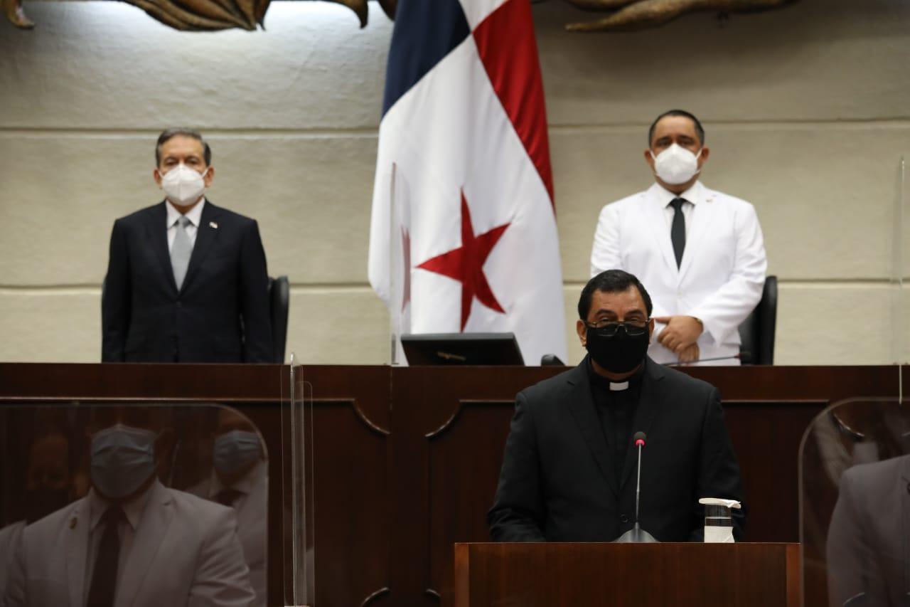 INVOCACIÓN RELIGIOSA - En la Sesión Solemne de instalación de la Asamblea Nacional de la República de Panamá (miércoles 1 de julio de 2020)