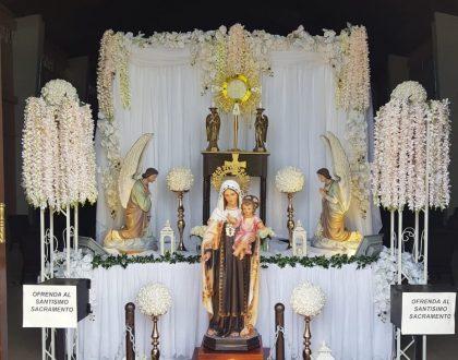 """Parroquia en La Chorrera realiza """"Oración Reparadora a Jesús Sacramentado, por la protección del País"""