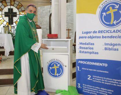 """""""Punto Sagrado"""" nuevo servicio de la  Iglesia Católica en la Arquidiócesis"""