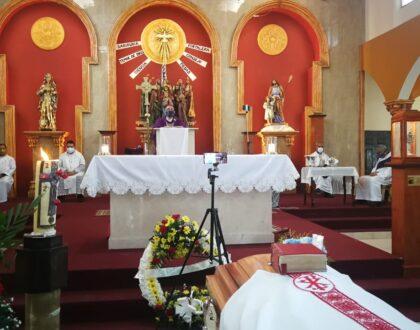 Homilía - Funeral del Diácono Gabriel González