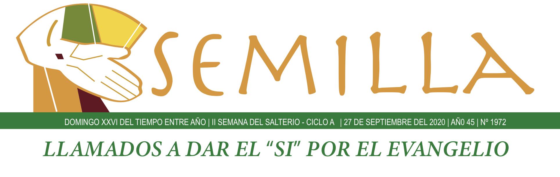 Semilla - 27 de septiembre de 2020