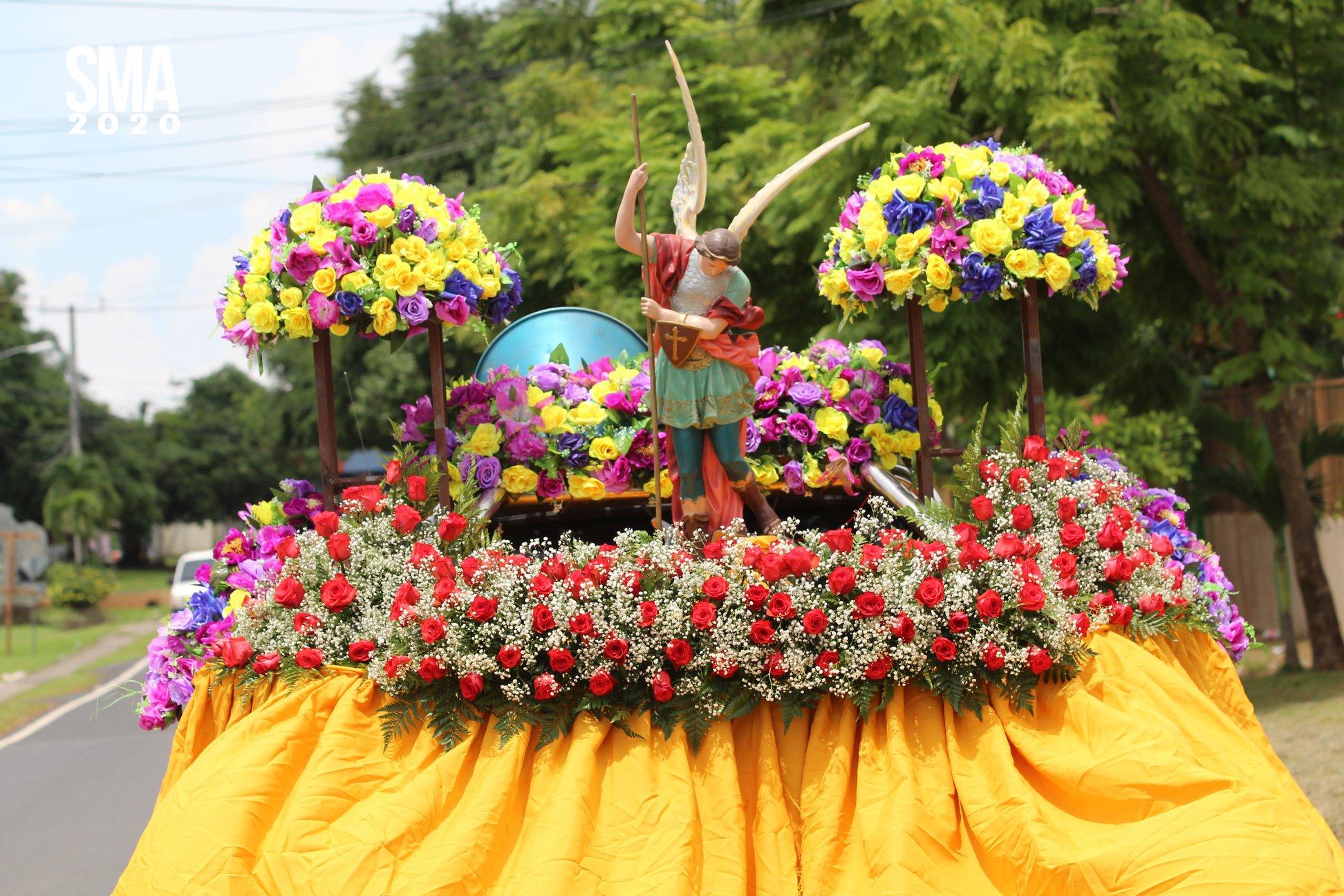 Feligreses de Atalaya, en la Diócesis de Santiago, celebraron a San Miguel Arcángel defensor del mal