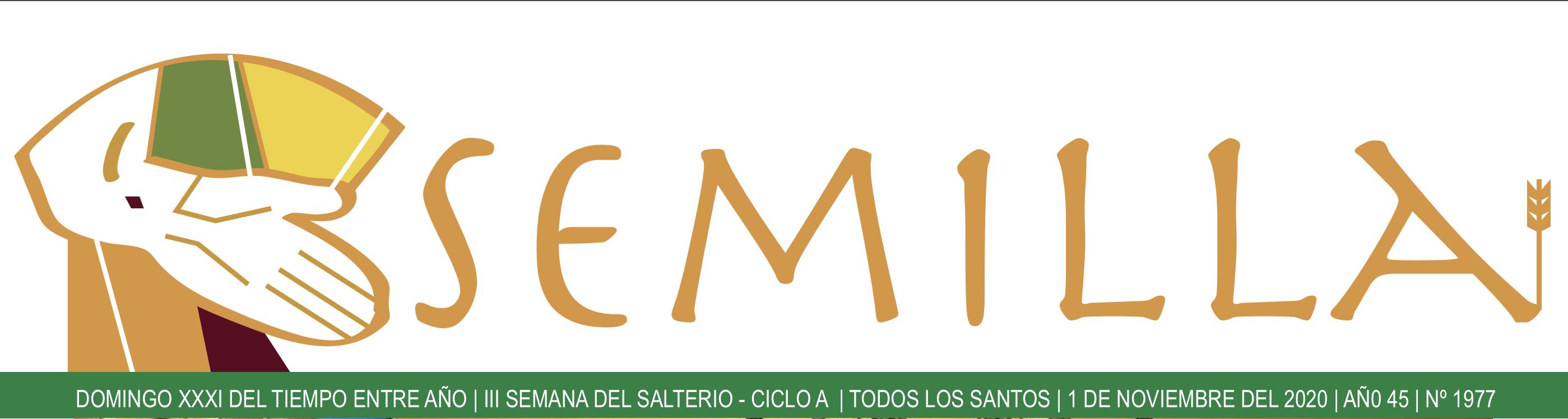 SEMILLA - 1 DE NOVIEMBRE DE 2020