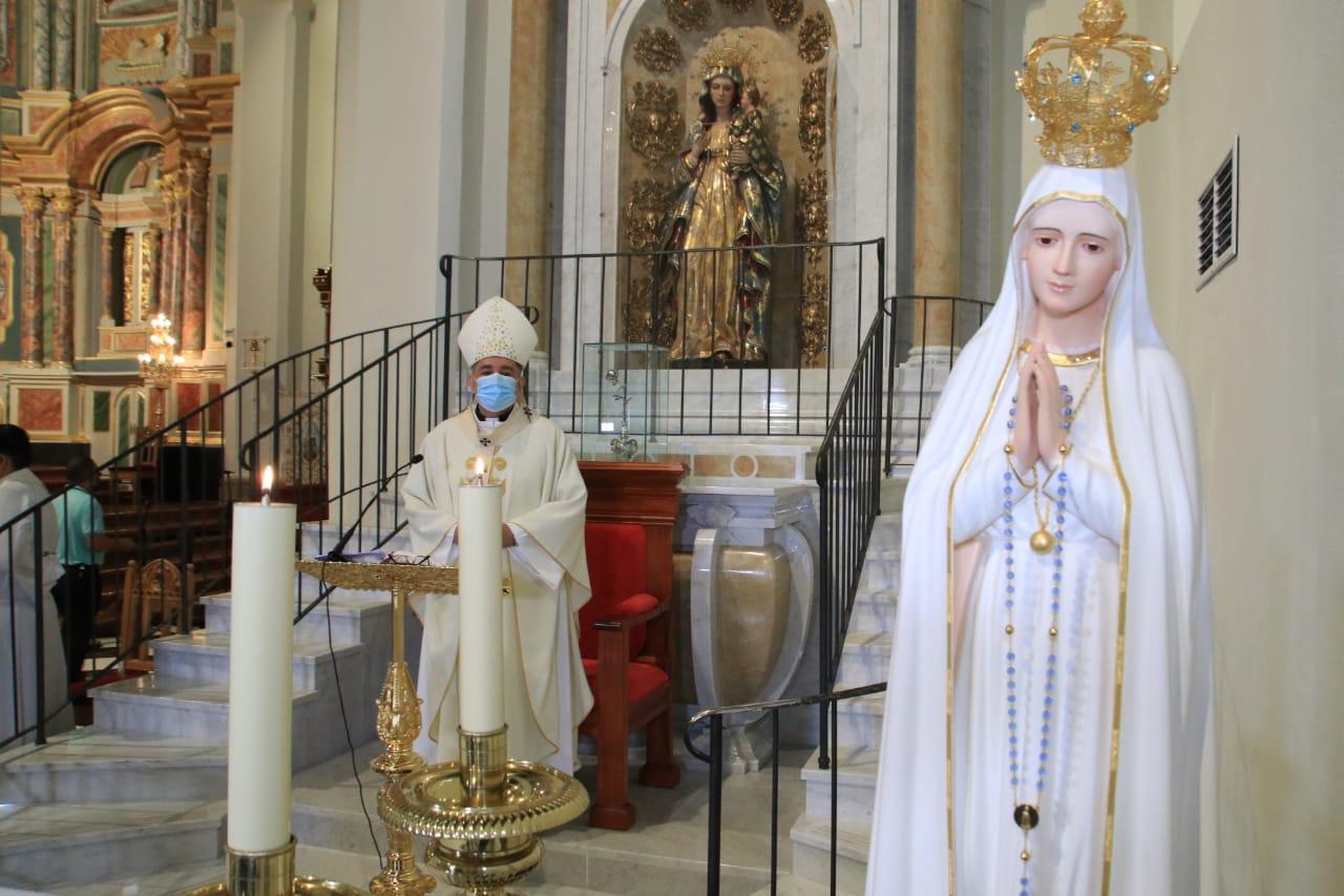 """NOTA DE PRENSA - """"Fátima 103 años después es faro de esperanza, y un fuerte estímulo para la conversión"""""""